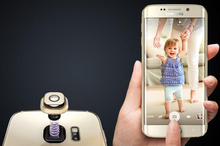 Samsung S6 Edge Kamera Camı Değişimi (Lens)