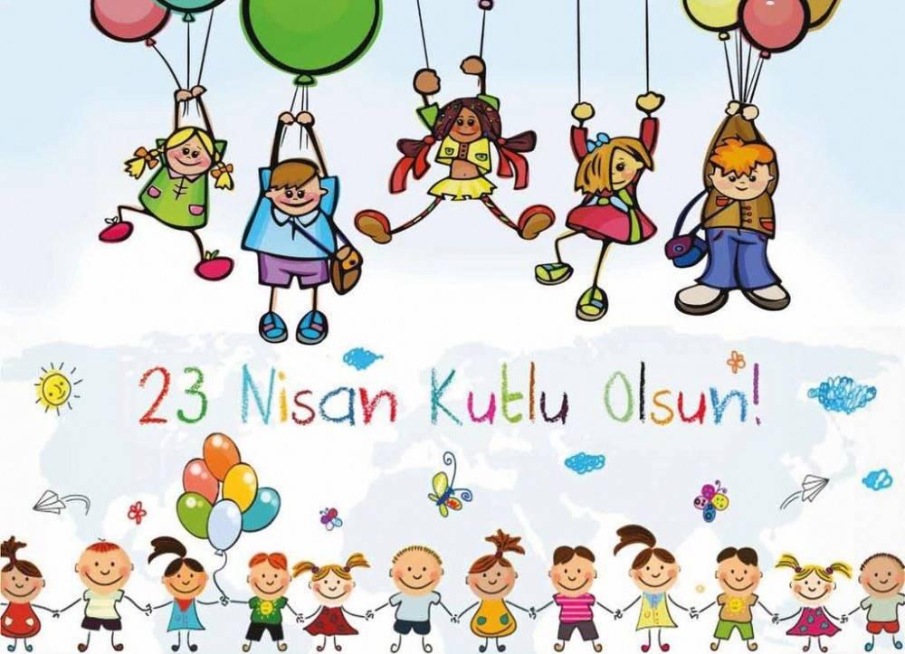 23 Nisan Çocuk Bayramı Kutlu Olsun