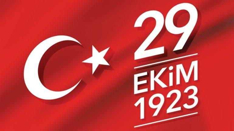 Cumhuriyetimizin 96. Yılı Kutlu Olsun.